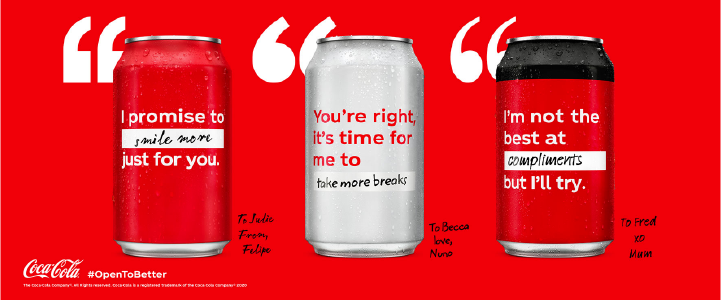Campaña de marketing emocional de Coca-Cola