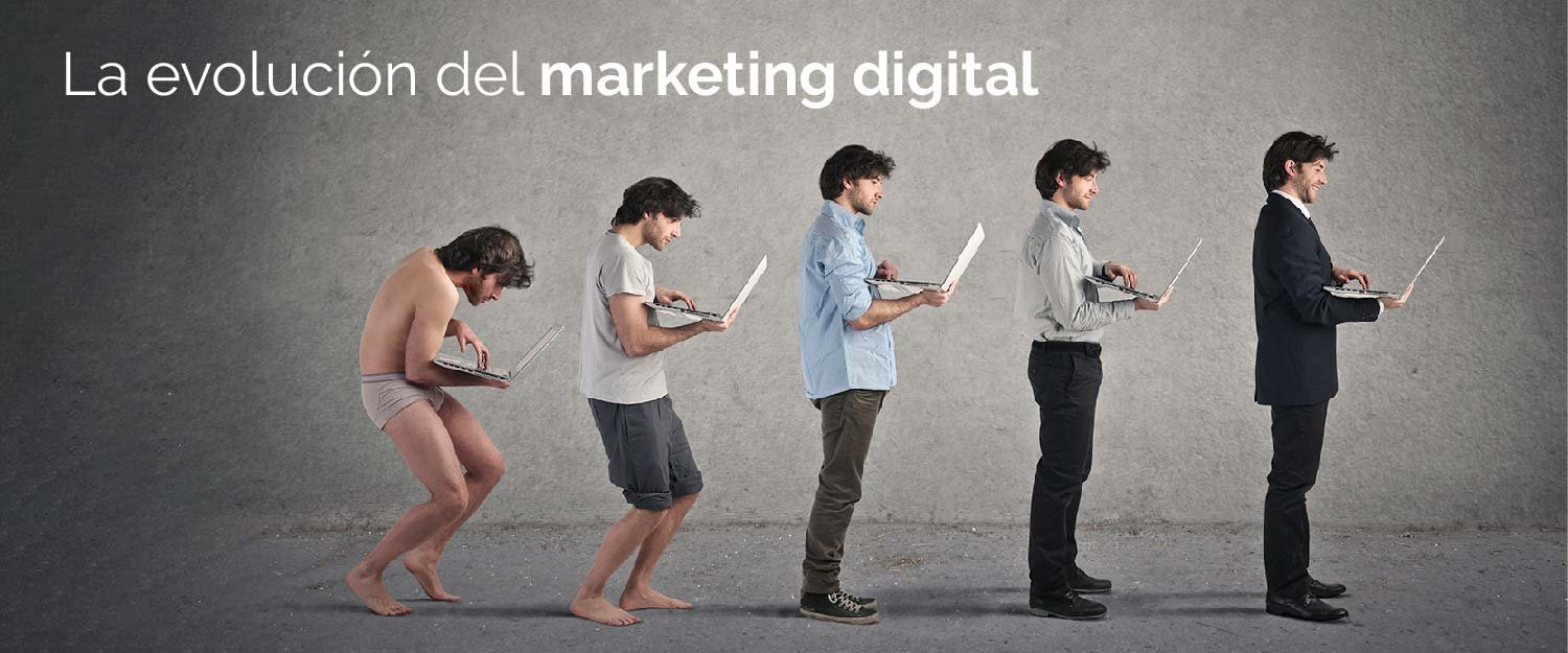 Evolución del marketing digital