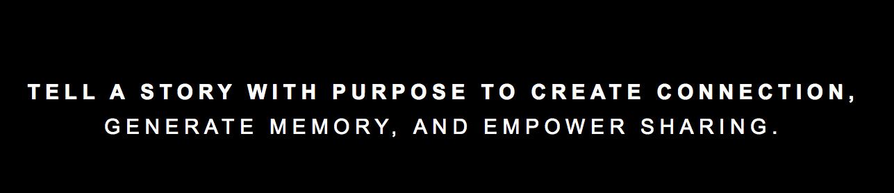 Todo se resume al storytelling que hagas de tu marca